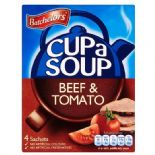 Batchelors Cup A Soup Beef & Tomato 4 Pack 88g